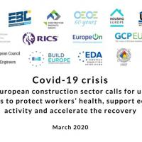 Construction 2050  - Joint Statement on COVID19